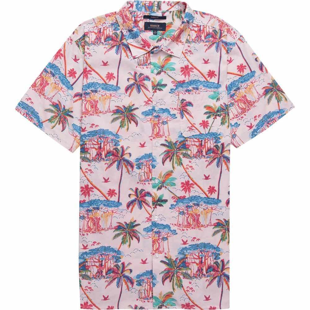 ロアークリバイバル Roark Revival メンズ トップス 半袖シャツ【Banyan Short-Sleeve Shirts】Pink