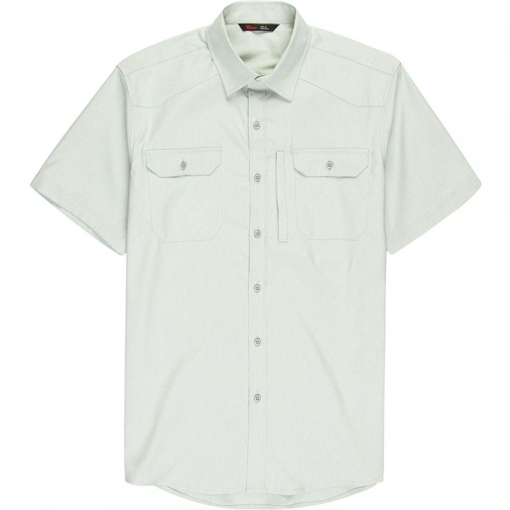 ストイック Stoic メンズ トップス 半袖シャツ【Badlands Hiking Shirts】Quarry Grey