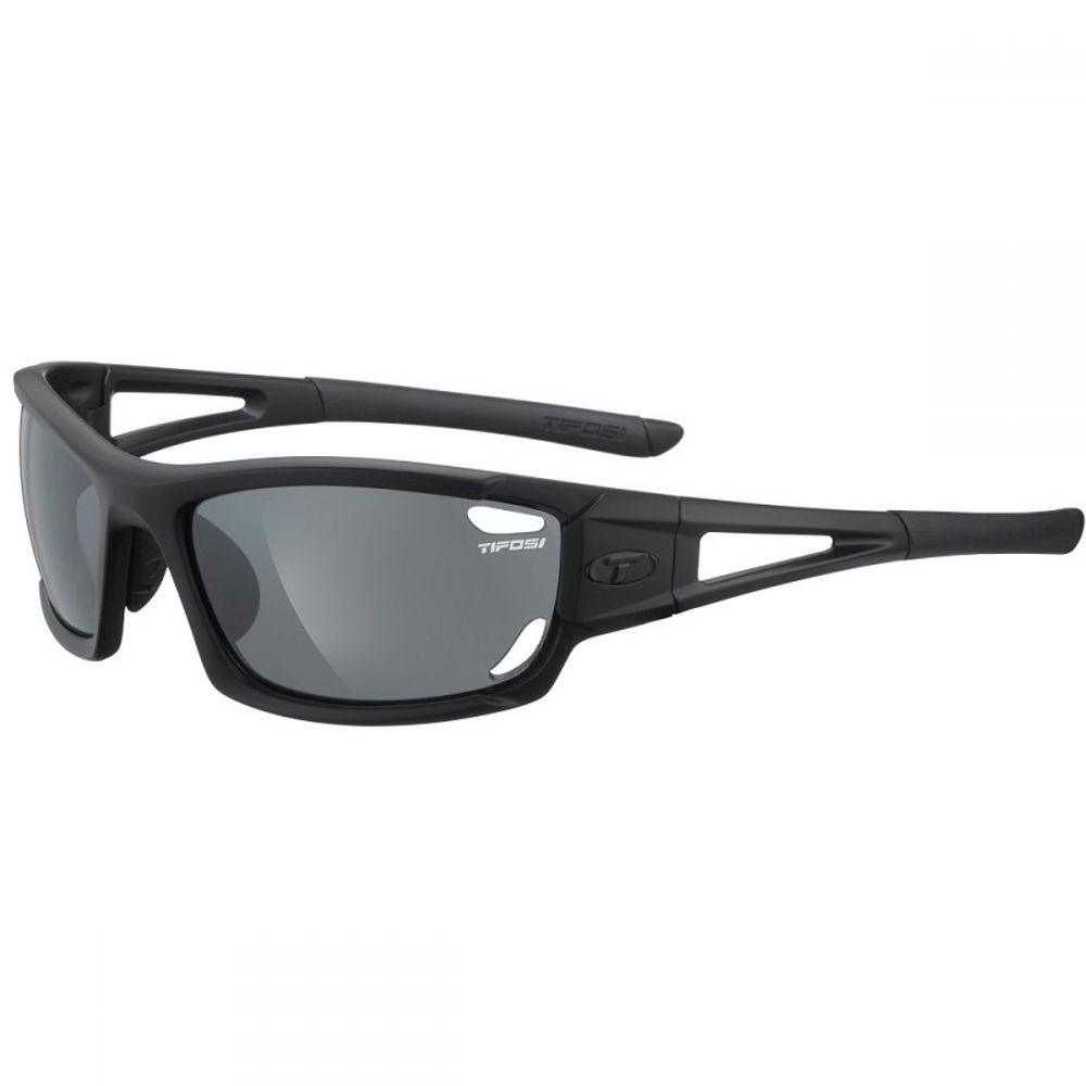 ティフォージ Tifosi Optics レディース スポーツサングラス【Dolomite 2.0 Sunglasses】Matte Black/Smoke-AC Red-Clear