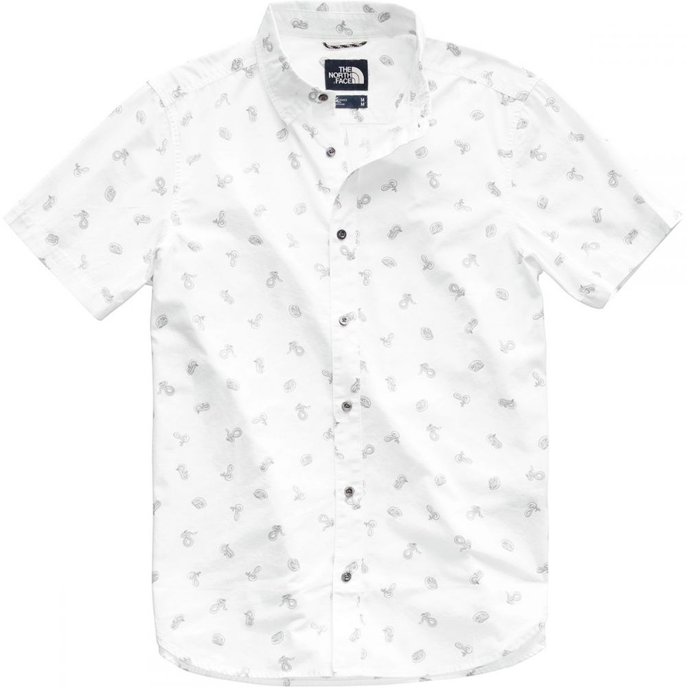ザ ノースフェイス The North Face メンズ トップス 半袖シャツ【Baytrail Shirts】Tnf White Snakes On A Plain Print