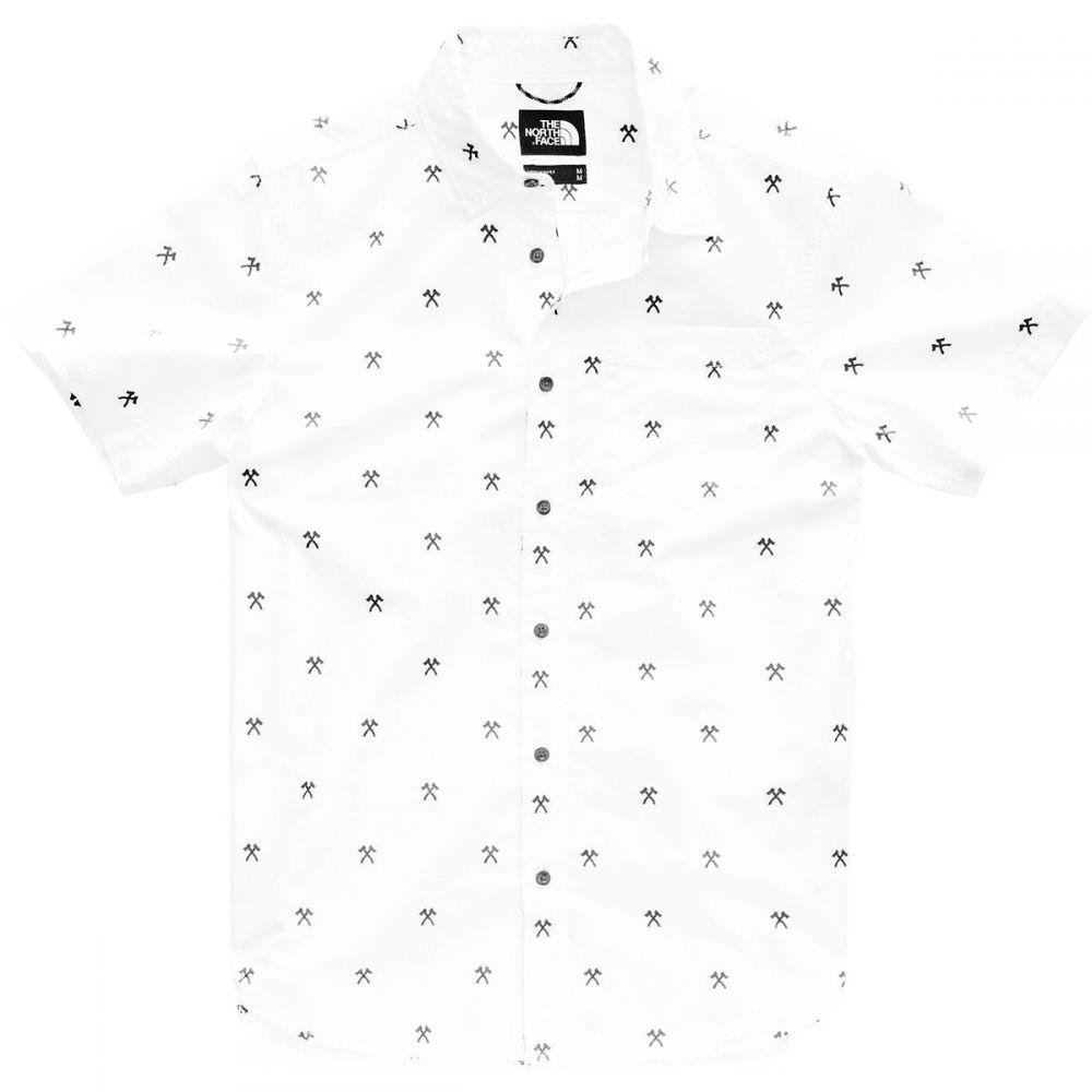 ザ ノースフェイス The North Face メンズ トップス 半袖シャツ【Baytrail Jacquard Shirts】Tnf White Hatchet Jacquard
