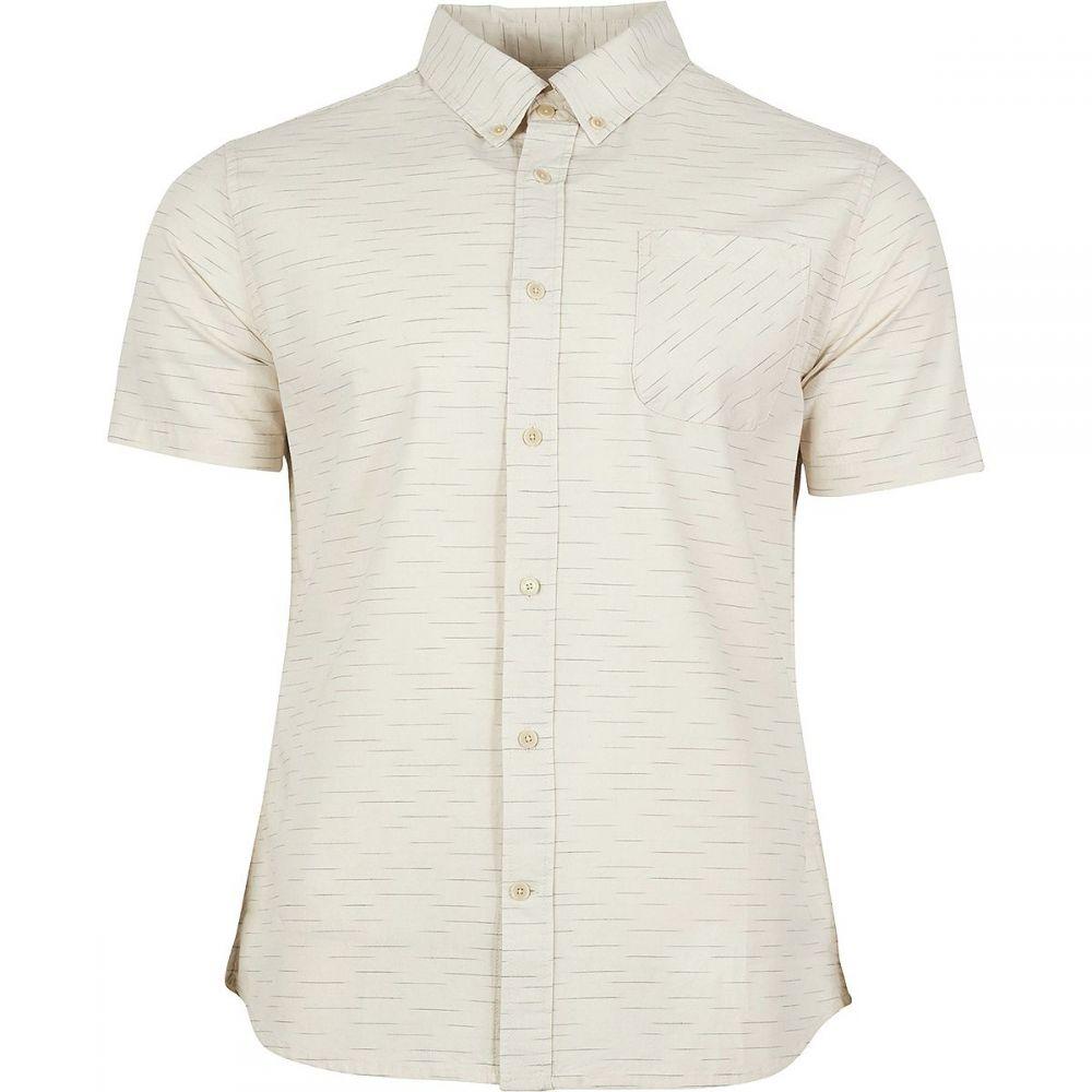 ユナイテッドバイブルー United by Blue メンズ トップス 半袖シャツ【Coastline Short-Sleeve Button Down Shirts】White