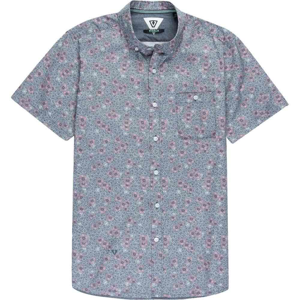 ヴィスラ Vissla メンズ トップス 半袖シャツ【Honeybomb Shirts】Pink Fade