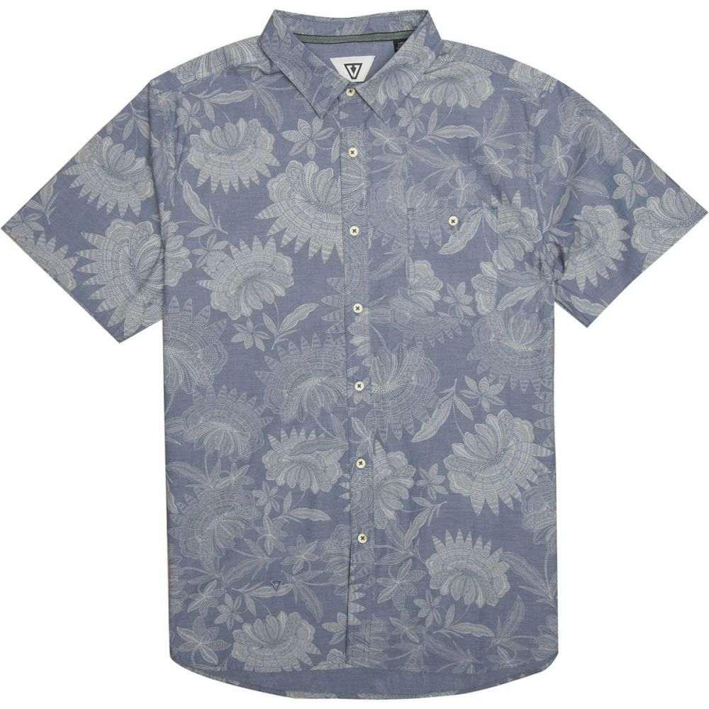 ヴィスラ Vissla メンズ トップス 半袖シャツ【Padang Shirts】Dark Denim