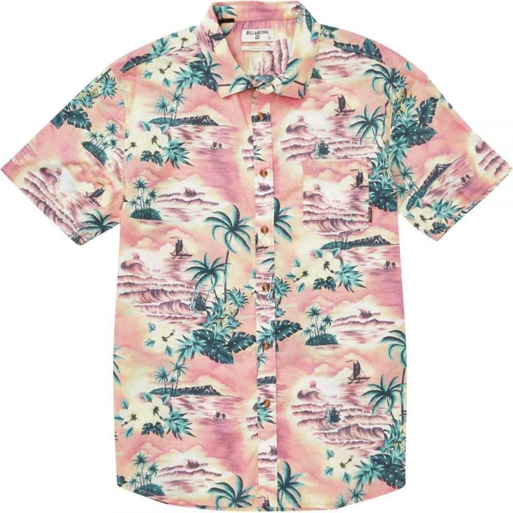 ビラボン Billabong メンズ トップス 半袖シャツ【Sundays Floral Short-Sleeve Shirts】Coral