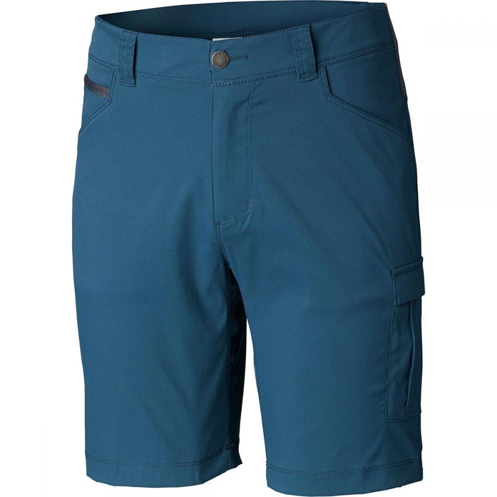 コロンビア Columbia メンズ ハイキング・登山 ボトムス・パンツ【Outdoor Elements Stretch Shorts】Petrol Blue