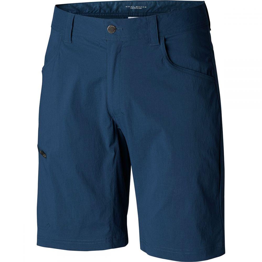 コロンビア Columbia メンズ ハイキング・登山 ボトムス・パンツ【Silver Ridge II Stretch Shorts】Petrol Blue