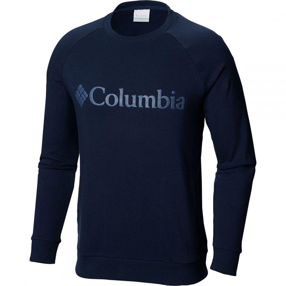 コロンビア Columbia メンズ トップス スウェット・トレーナー【CSC M Bugasweat Crew Sweatshirts】Collegiate Navy