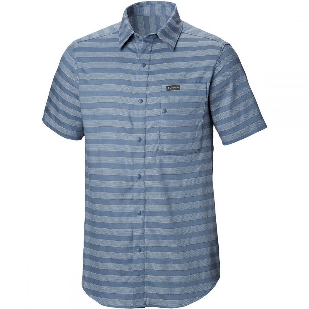 コロンビア Columbia メンズ トップス 半袖シャツ【Shoals Point Short-Sleeve Shirts】Mountain Stripe