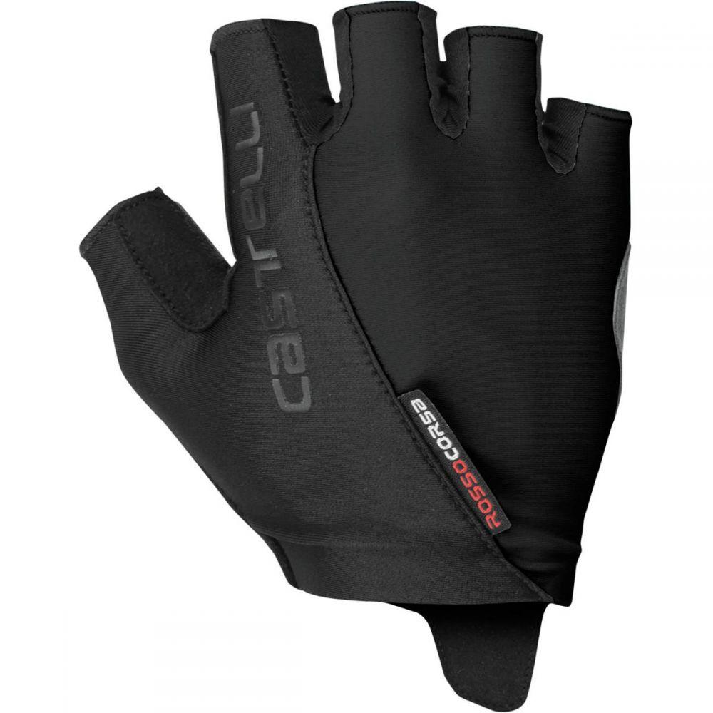 カステリ Castelli レディース 自転車 グローブ【Rosso Corsa Glove】Black