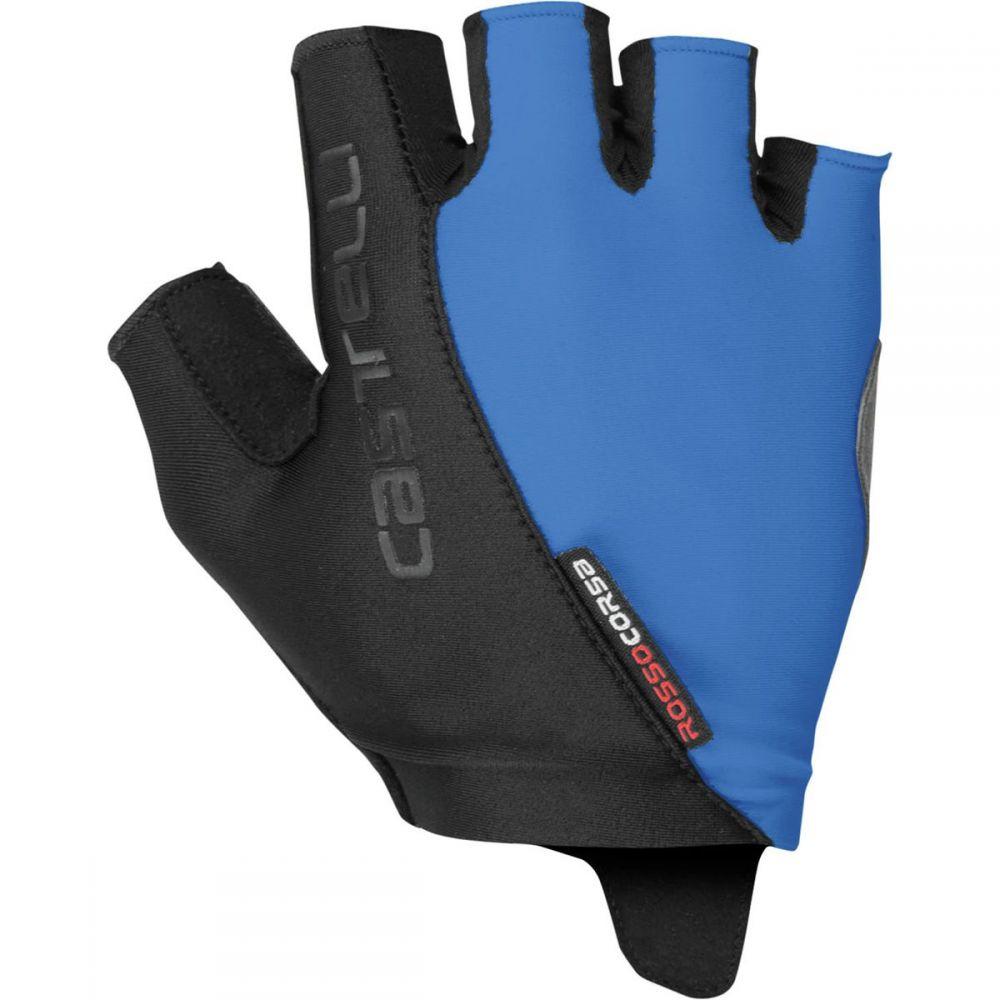 カステリ Castelli レディース 自転車 グローブ【Rosso Corsa Glove】Riviera Blue