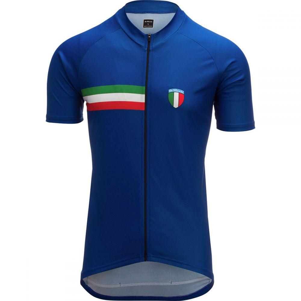 デマルキ De Marchi メンズ 自転車 トップス【PT - EVO Italian Jerseys】Navy