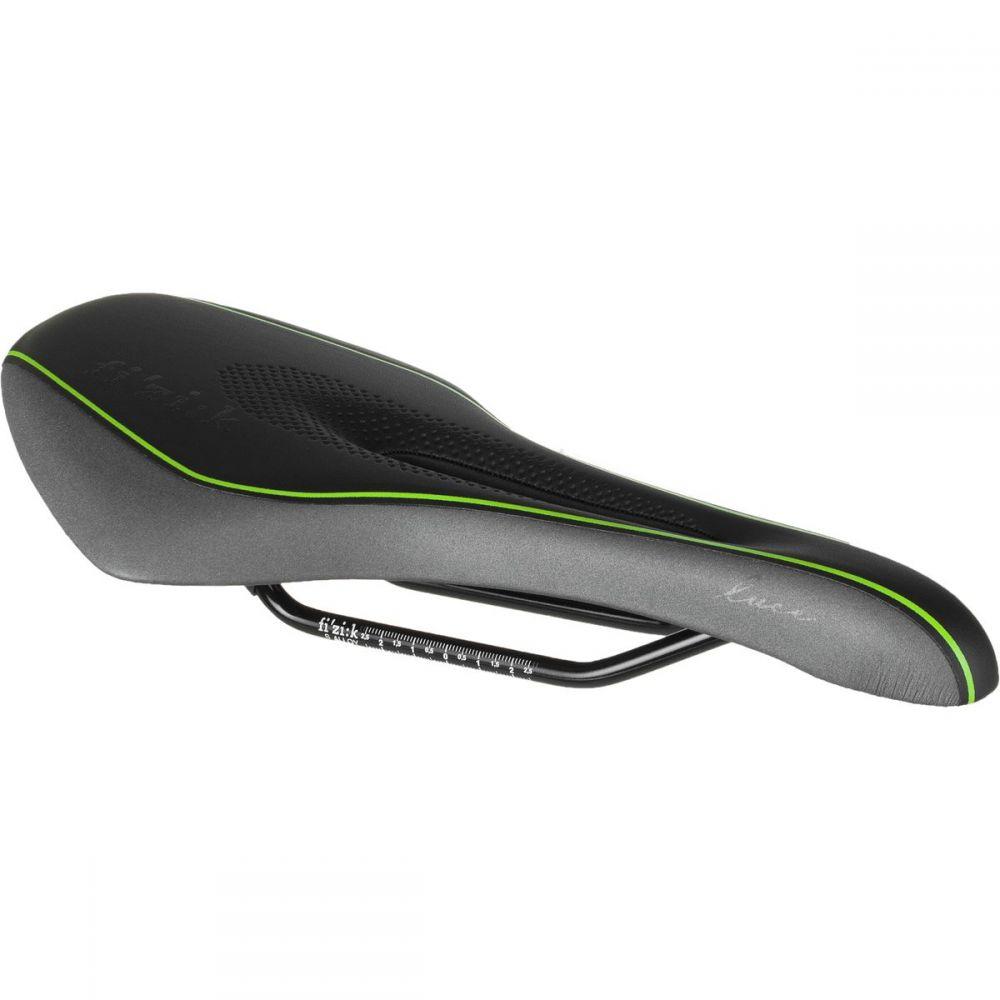 フィジーク Fi'zi:k レディース 自転車 サドル【Luce Manganese Saddle】Black/Lime