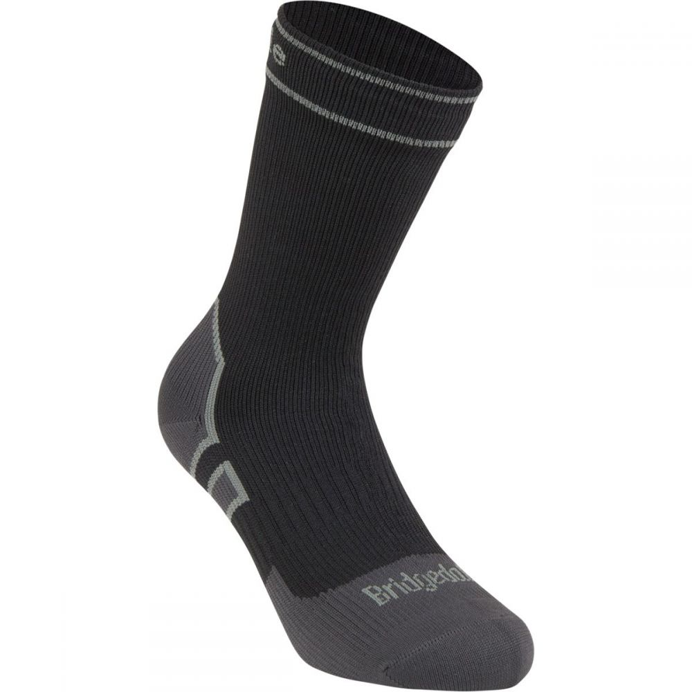 ブリッジデール Bridgedale レディース ハイキング・登山【Stormsock Lightweight Boot Sock】Black/Mid Grey