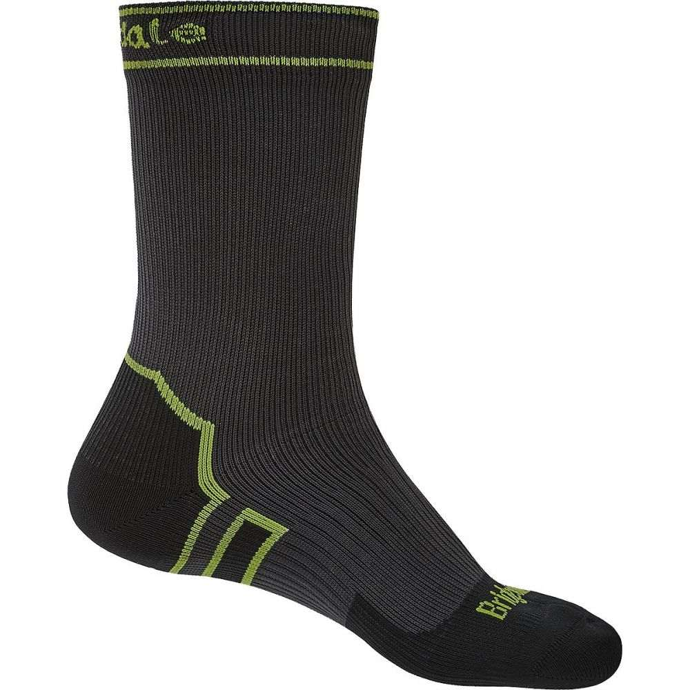 ブリッジデール Bridgedale レディース ハイキング・登山【Stormsock Lightweight Boot Sock】Dark Grey/Lime