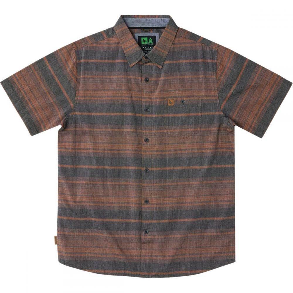 ヒッピーツリー Hippy Tree メンズ トップス 半袖シャツ【Carlsbad Woven Shirts】Rust