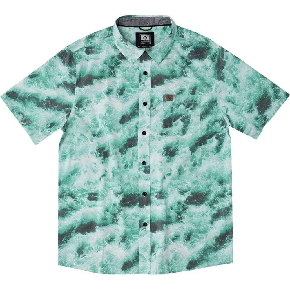 ヒッピーツリー Hippy Tree メンズ トップス 半袖シャツ【Undertow Woven Shirts】Blue