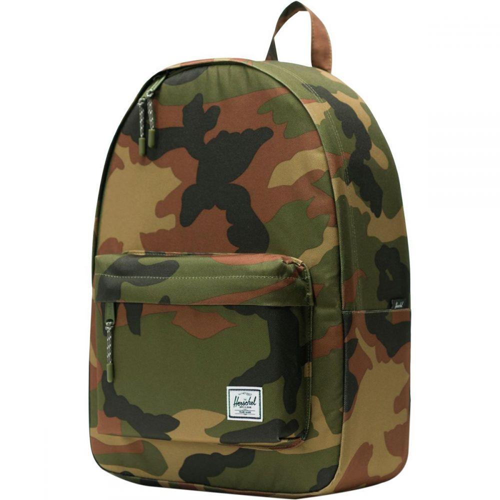ハーシェル サプライ Herschel Supply レディース バッグ バックパック・リュック【Classic 24L Backpack】Woodland Camo