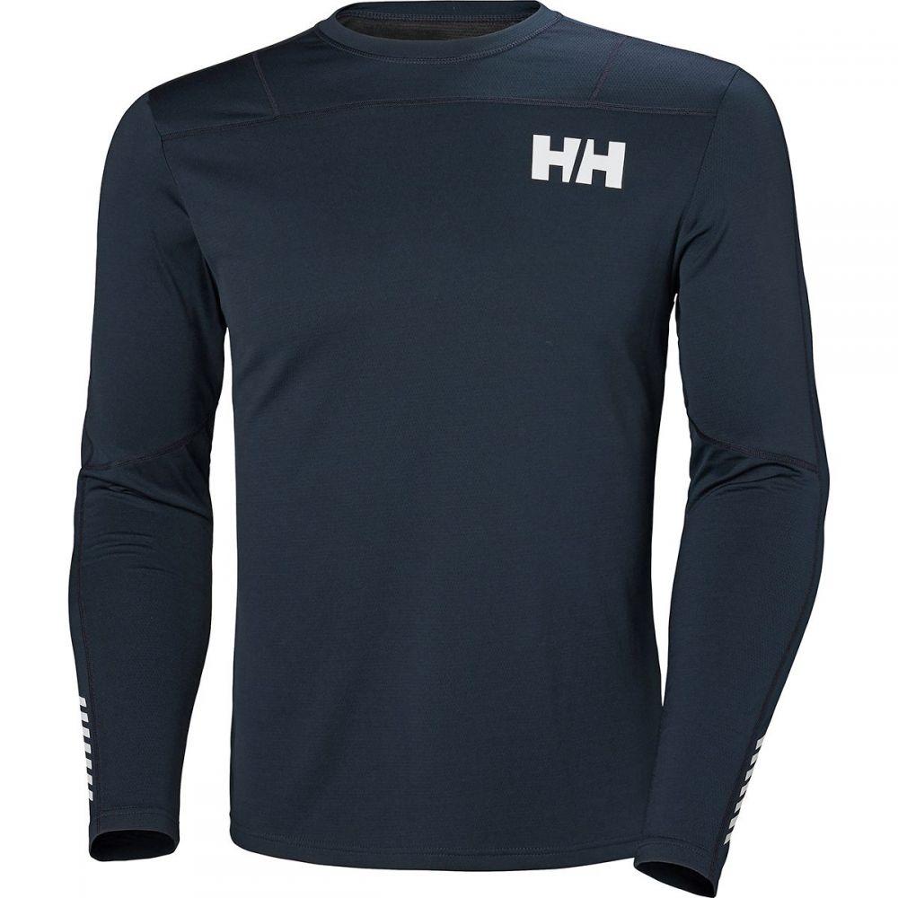 ヘリーハンセン Helly Hansen メンズ トップス【Lifa Active Light Long-Sleeve Baselayer Tops】Navy