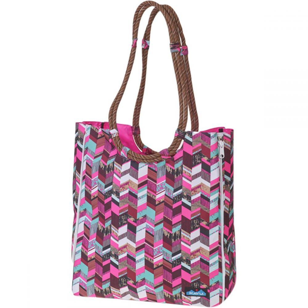 カブー KAVU レディース バッグ トートバッグ【Market Bag】Sunset Blocks