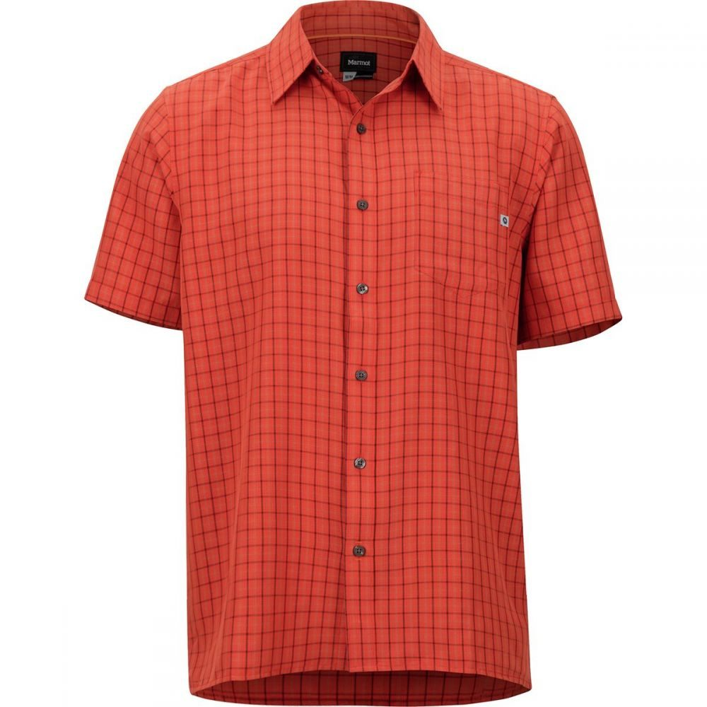 マーモット Marmot メンズ トップス 半袖シャツ【Eldridge Shirts】Mandarin Orange