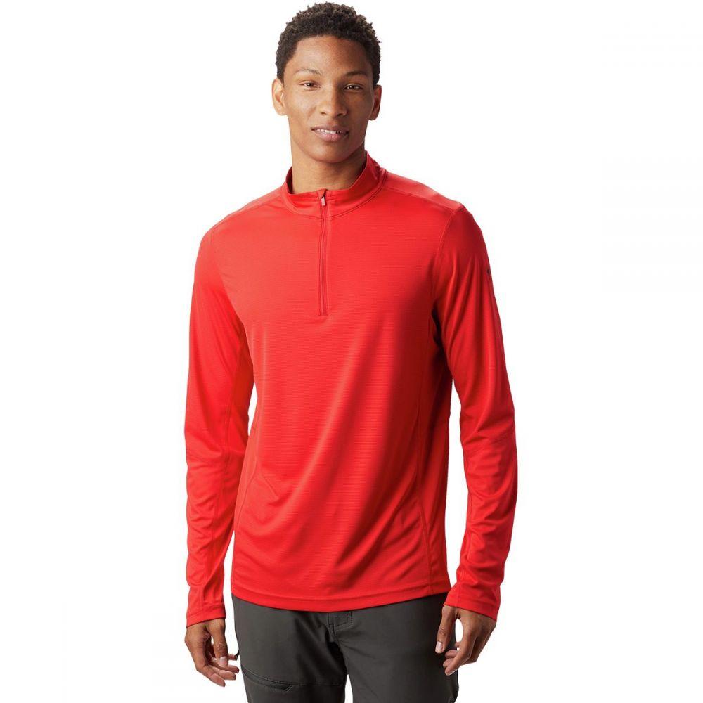 マウンテンハードウェア Mountain Hardwear メンズ トップス【Photon Zip T-Shirts】Racer