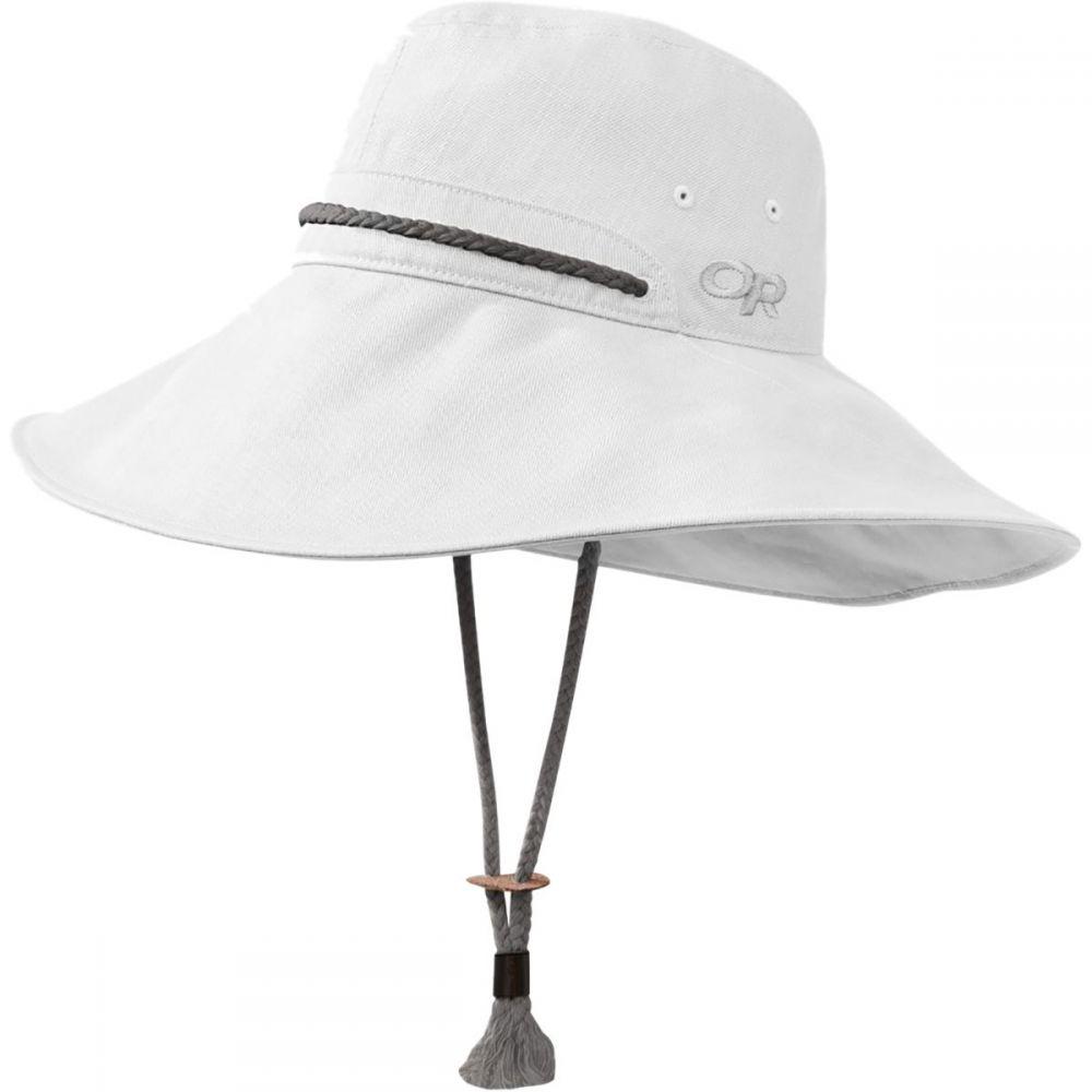 アウトドアリサーチ Outdoor Research レディース 帽子 ハット【Bugout Mojave Sun Hat】White