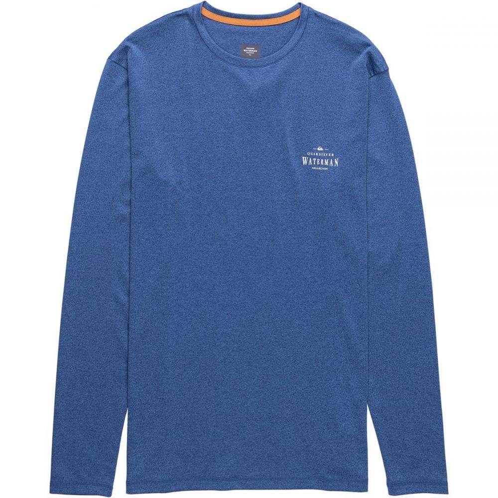 クイックシルバー Quiksilver Waterman メンズ 水着・ビーチウェア ラッシュガード【Watermarked Long-Sleeve Rashguards】Monaco Blue