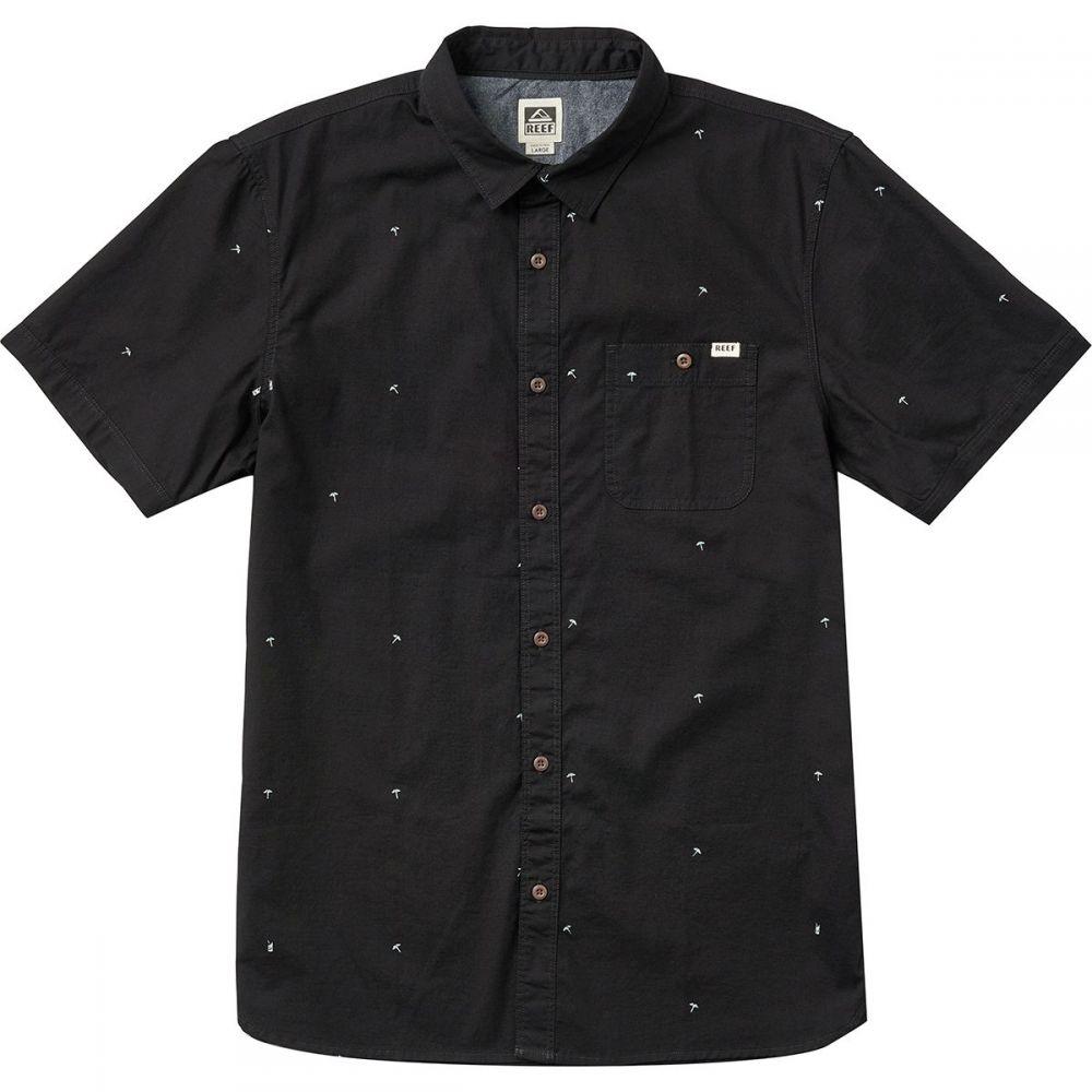 リーフ Reef メンズ トップス 半袖シャツ【Umbrellas Short-Sleeve Shirts】Black