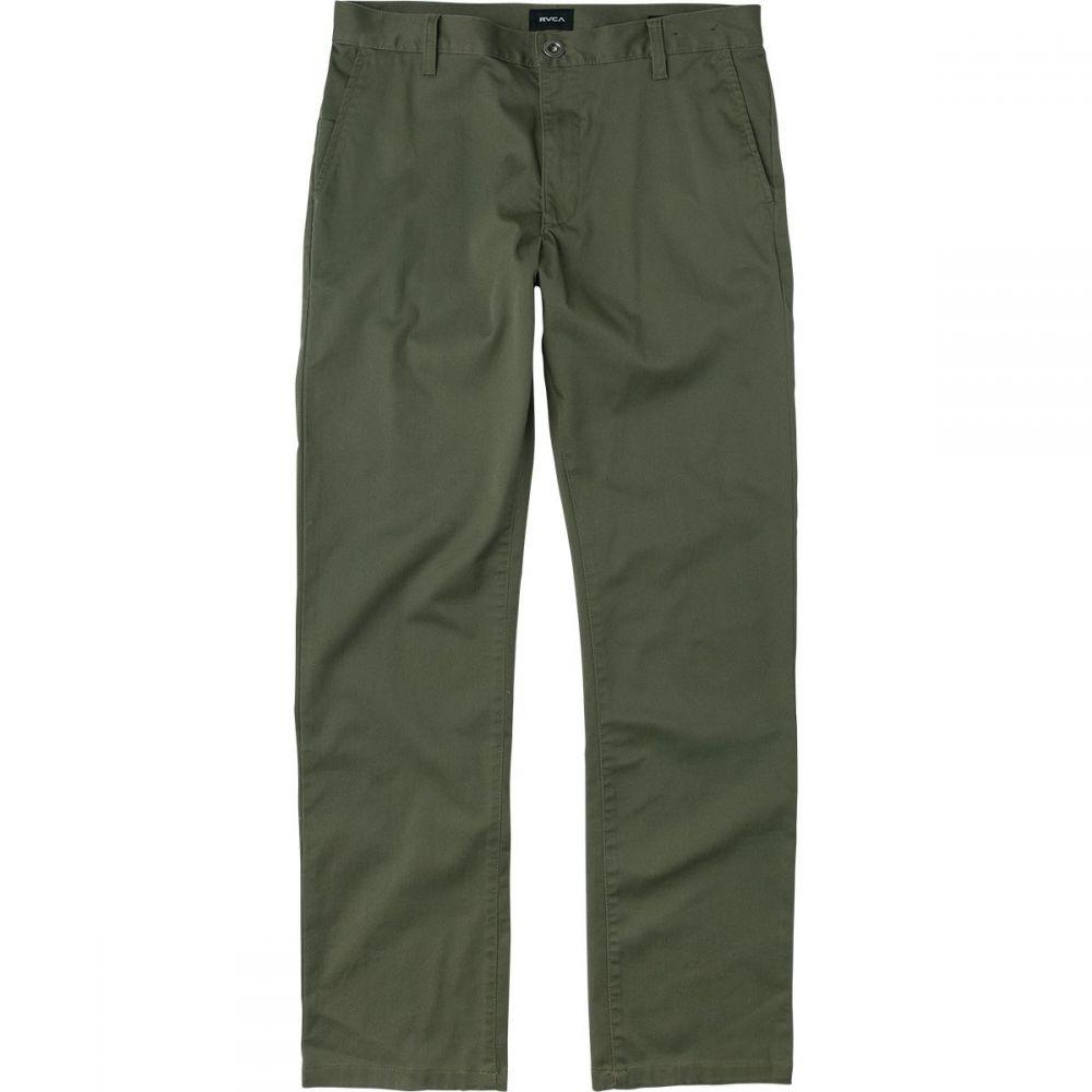ルーカ RVCA メンズ ボトムス・パンツ【Weekend Stretch Pants】Olive