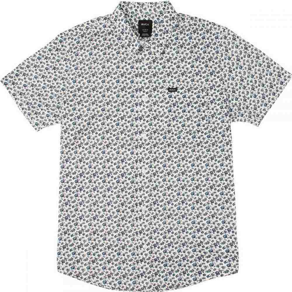 ルーカ RVCA メンズ トップス 半袖シャツ【Porcelain Shirts】Antique White