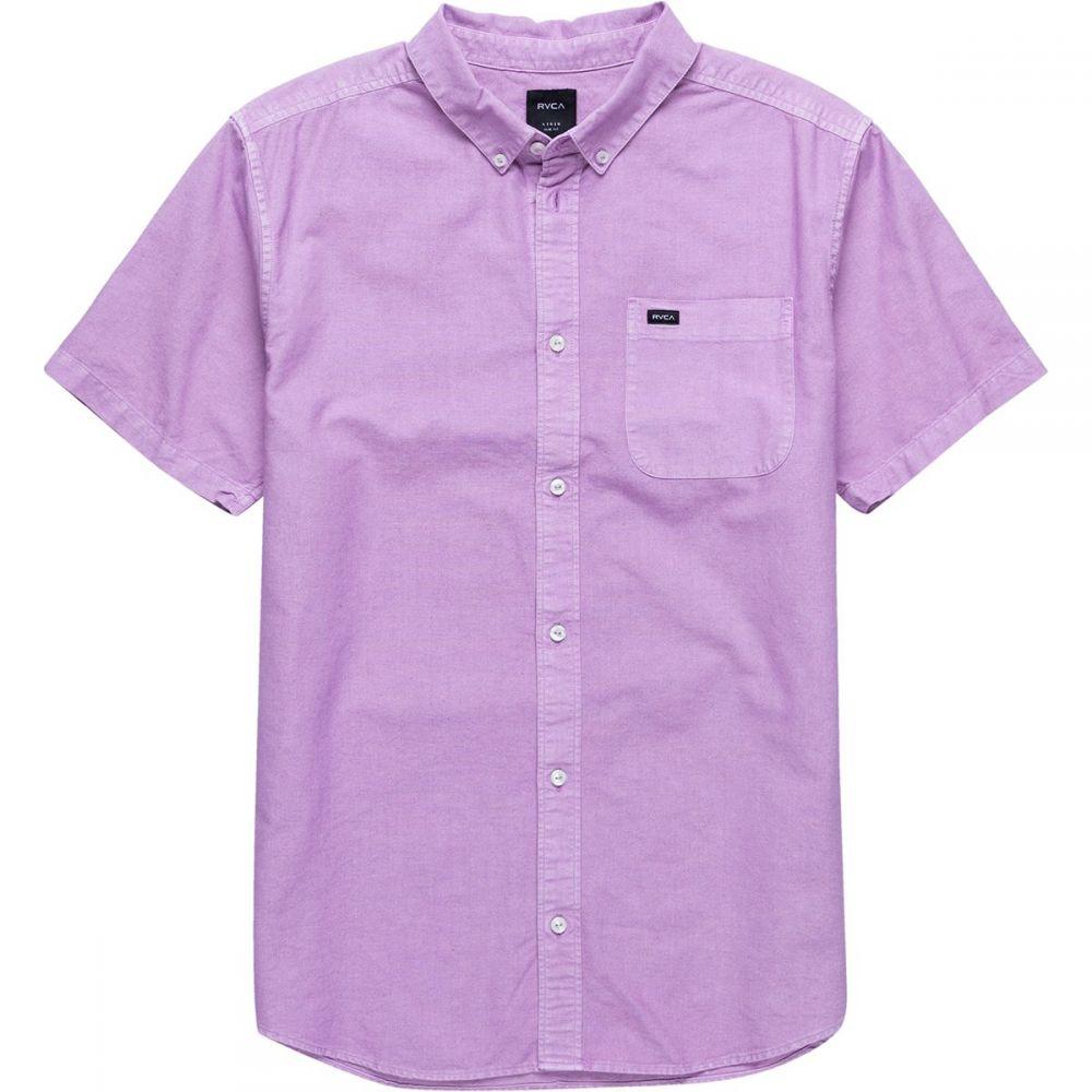 ルーカ RVCA メンズ トップス 半袖シャツ【That'll Butter Short-Sleeve Shirts】Lavender