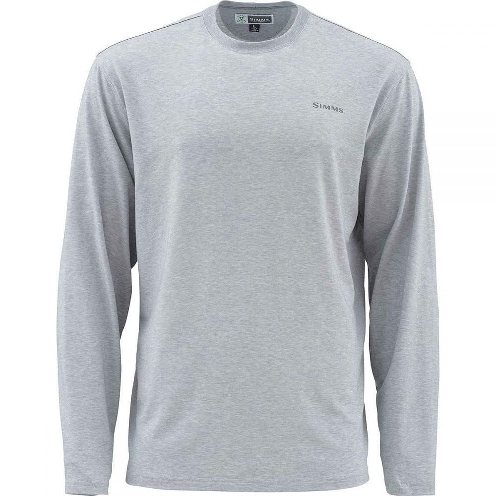 シムズ Simms メンズ 釣り・フィッシング トップス【Bugstopper Long-Sleeve Tech Shirts】Granite