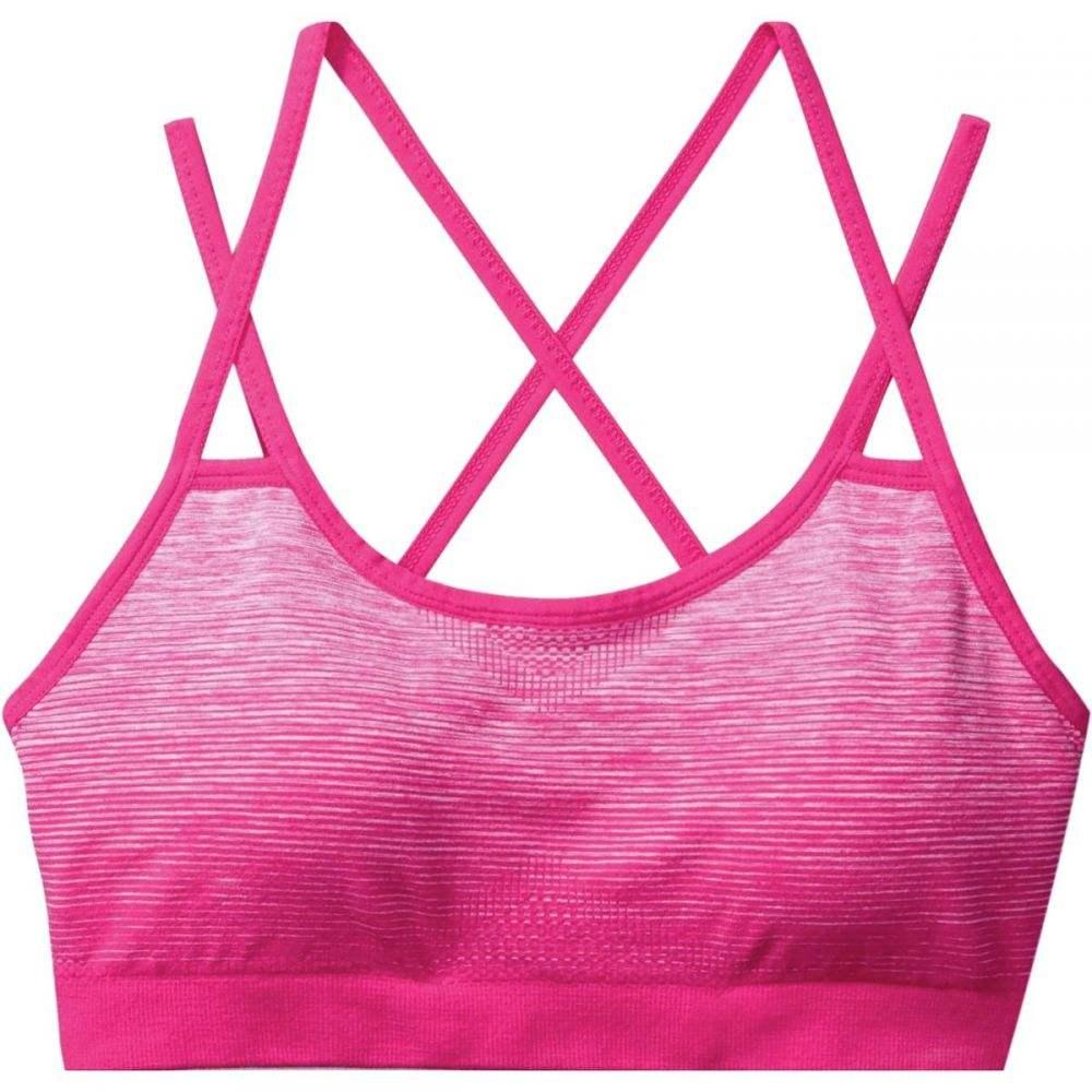 スマートウール Smartwool レディース インナー・下着 スポーツブラ【PhD Seamless Strappy Bra】Potion Pink
