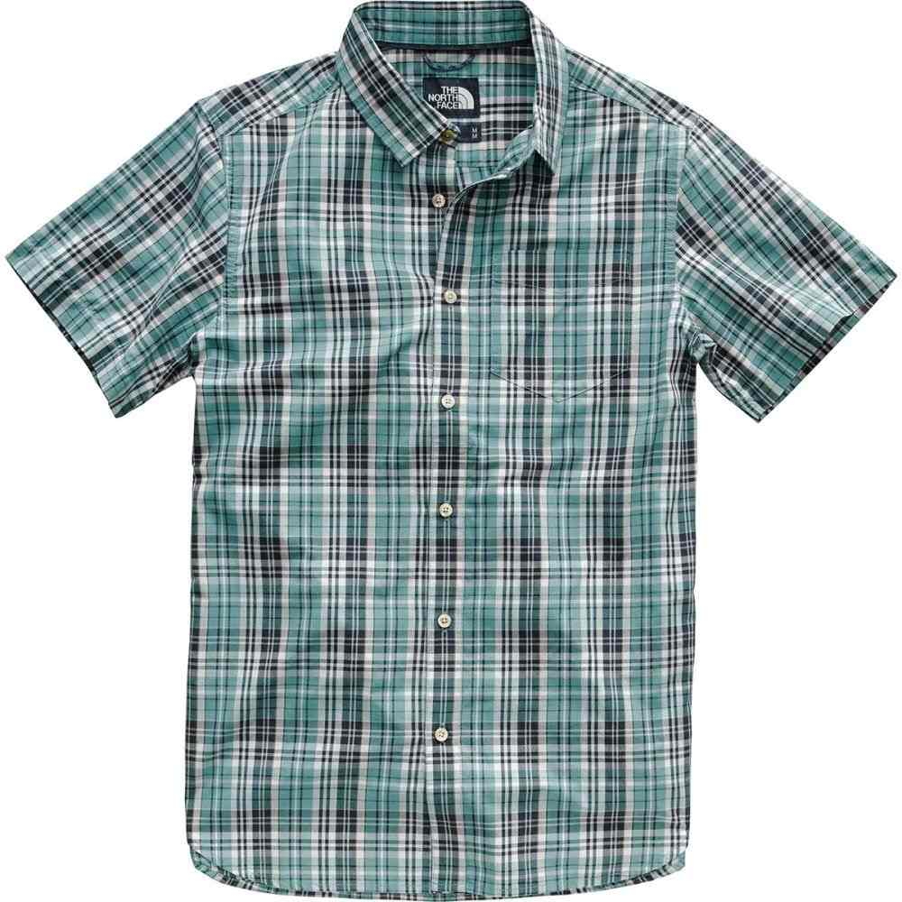 ザ ノースフェイス The North Face メンズ トップス 半袖シャツ【Hammetts Short-Sleeve Shirts】Storm Blue Sebastian Plaid