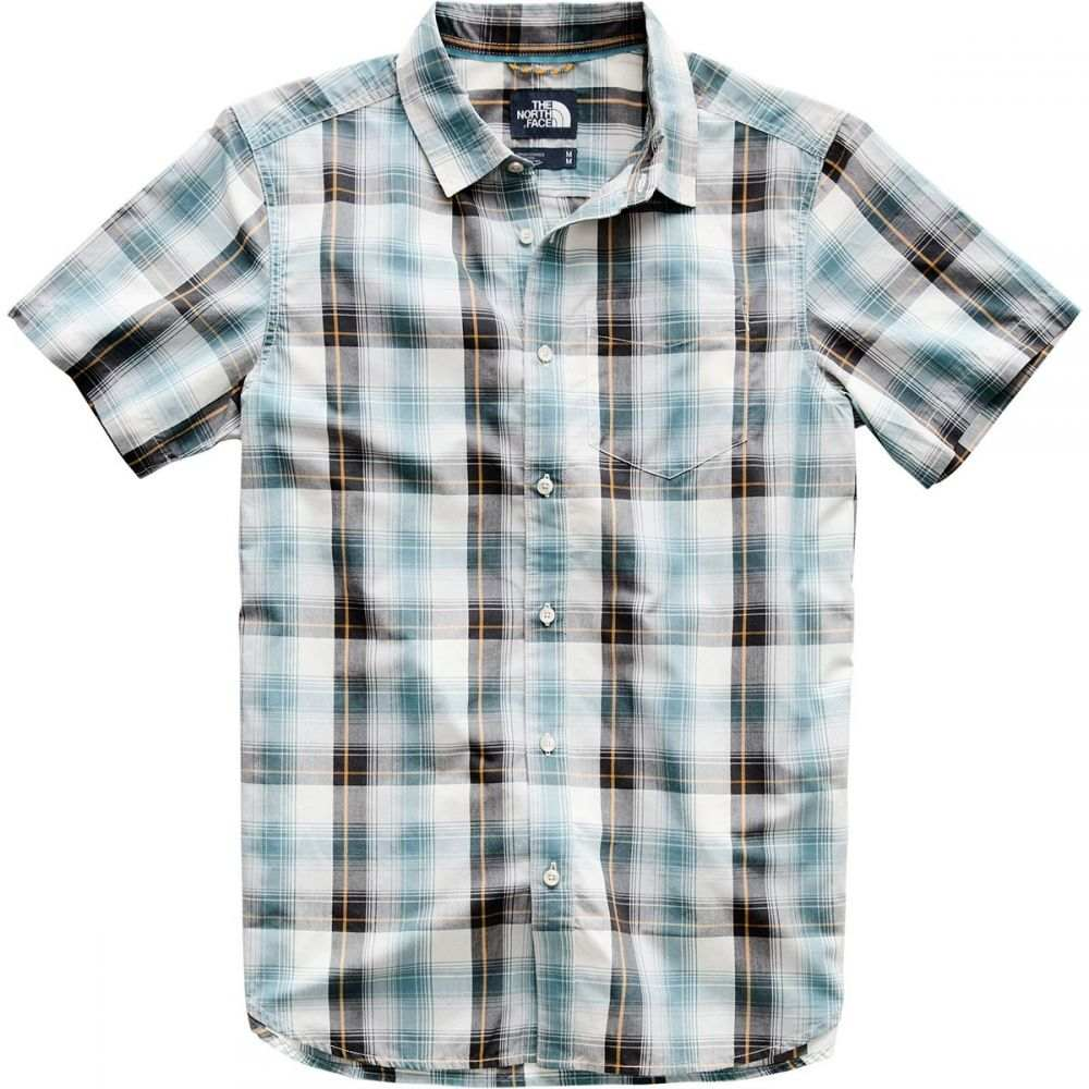 ザ ノースフェイス The North Face メンズ トップス 半袖シャツ【Hammetts Short-Sleeve Shirts】Vintage White Ash Plaid