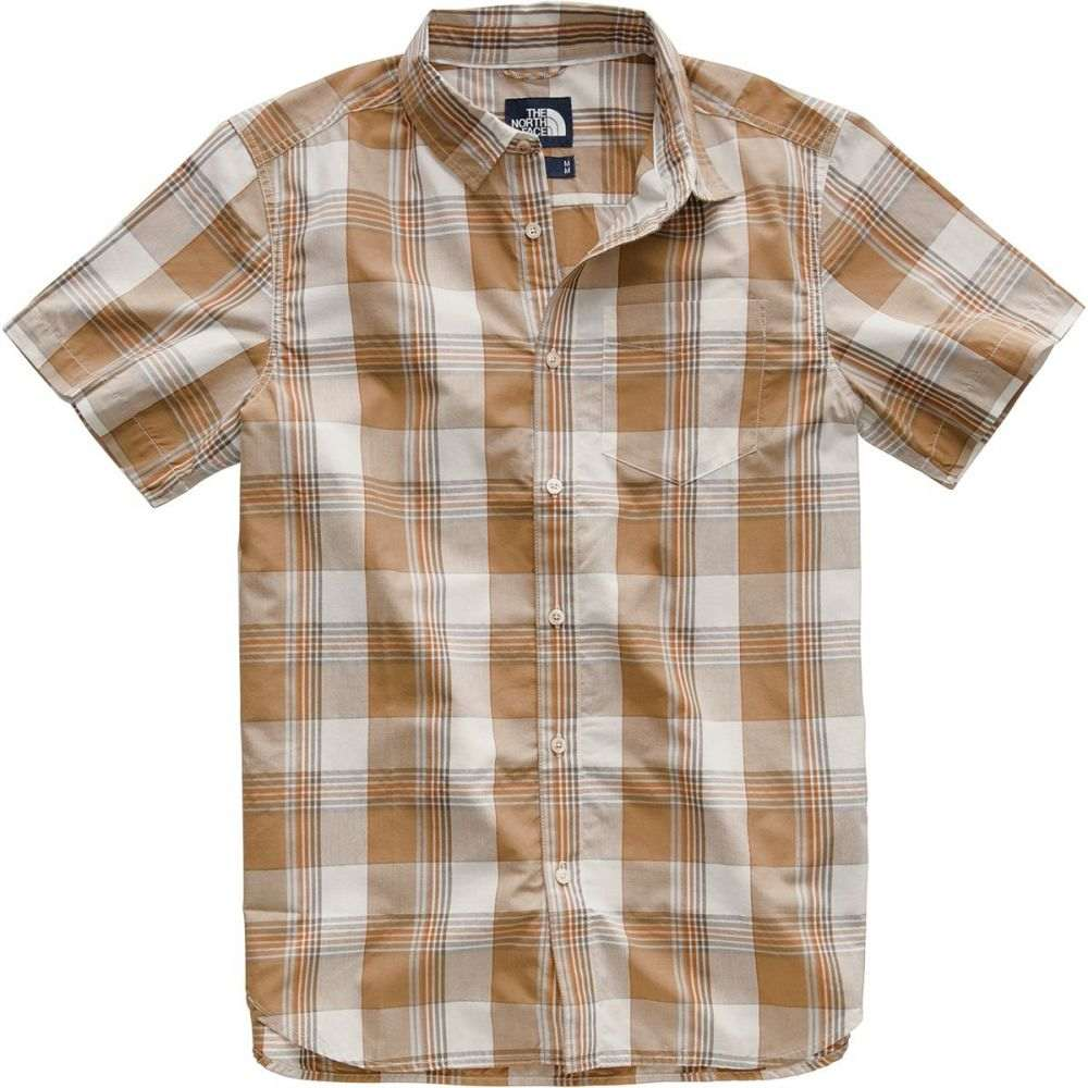 ザ ノースフェイス The North Face メンズ トップス 半袖シャツ【Hammetts Short-Sleeve Shirts】Vintage White Mylo Plaid