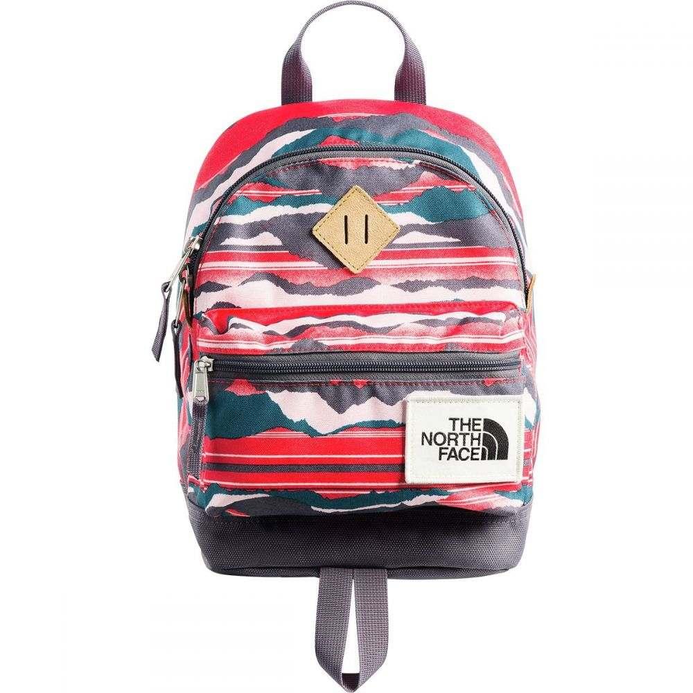 ザ ノースフェイス The North Face レディース バッグ バックパック・リュック【Mini Mini Berkeley 9L Backpack】Juicy Red Landscape Stripe Print/Rabbit Grey