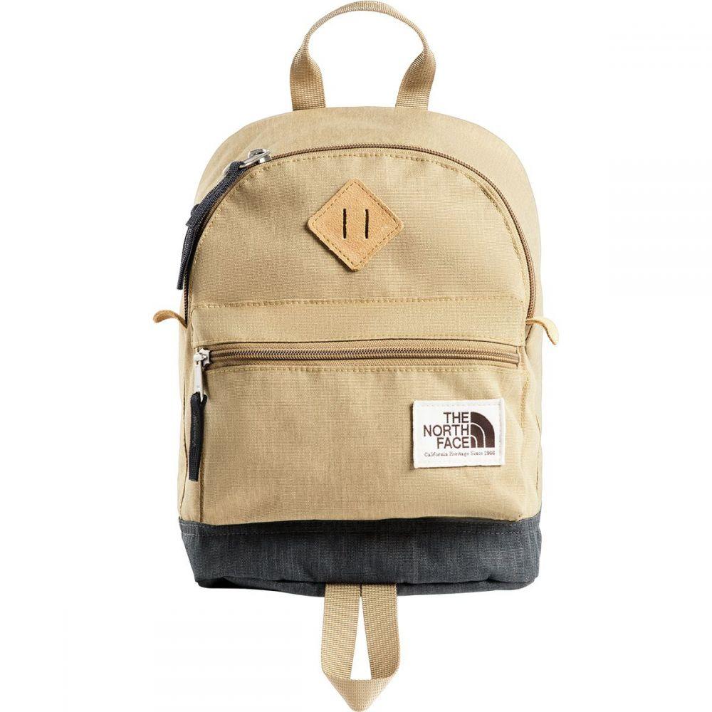 ザ ノースフェイス The North Face レディース バッグ バックパック・リュック【Mini Mini Berkeley 9L Backpack】Kelp Tan Dark Heather/Asphalt Grey Light Heather