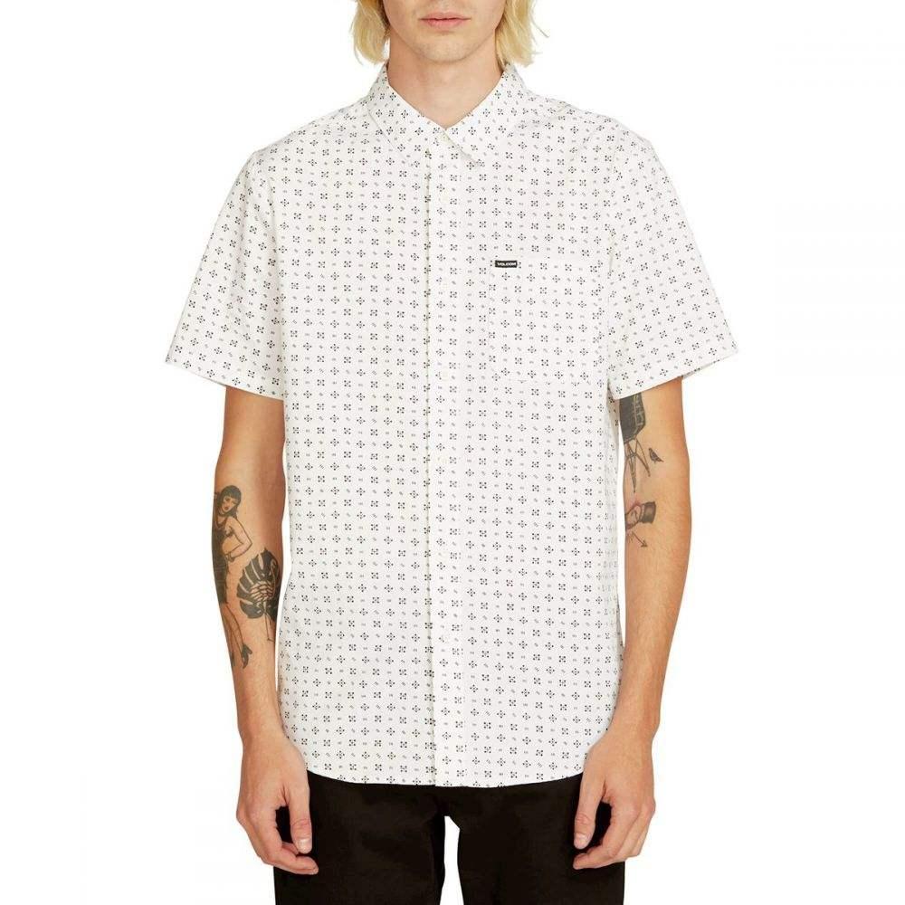 ボルコム Volcom メンズ トップス 半袖シャツ【Salt Dot Shirts】White