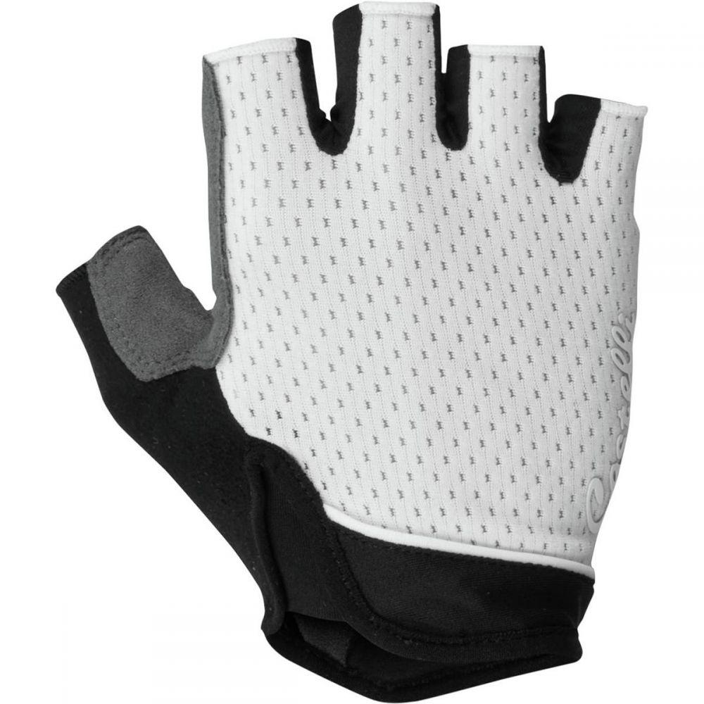 カステリ Castelli レディース 自転車 グローブ【Roubaix Gel Glove】Ivory