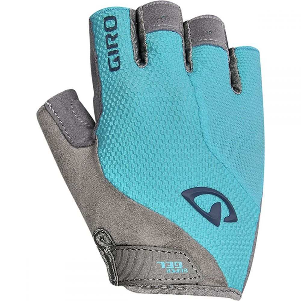 ジロ Giro レディース 自転車 グローブ【Strada Massa Supergel Gloves】Iceberg/Midnight Blue