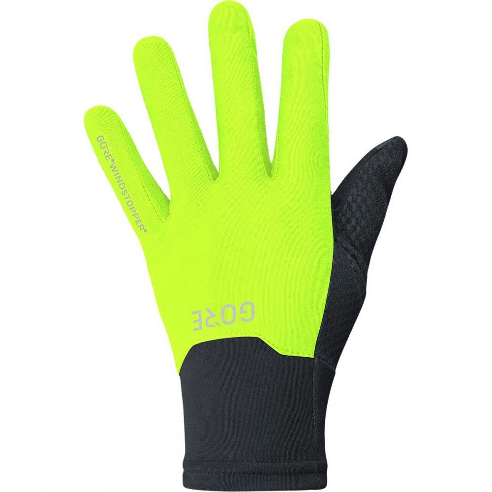 ゴアウェア Gore Wear メンズ 自転車 グローブ【Windstopper Gloves】Black/Neon Yellow