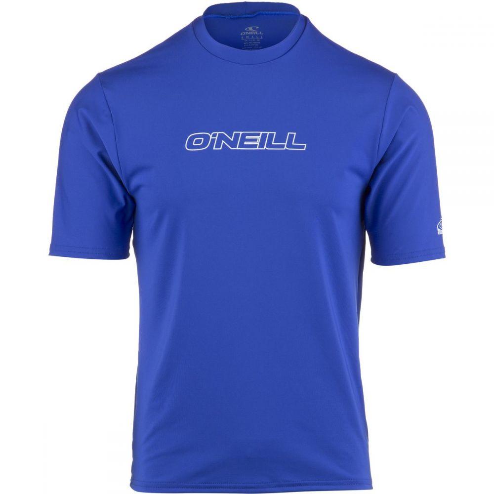 オニール O'Neill メンズ 水着・ビーチウェア ラッシュガード【Basic Skins Rash T-Shirts】Pacific