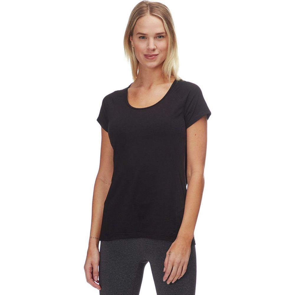 ストイック Stoic レディース ハイキング・登山 トップス【Runoff Hiking T - Shirt】Black