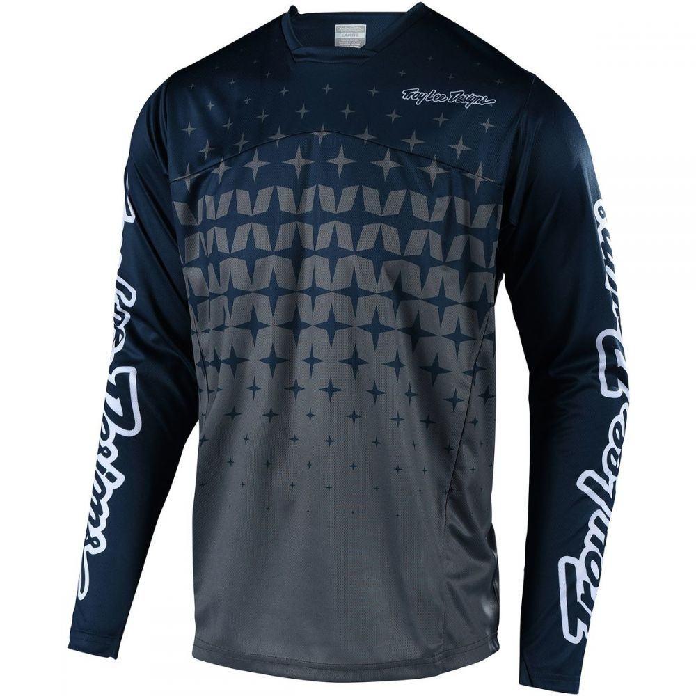 新しい トロイリーデザイン Troy Lee Designs メンズ 自転車 トップス メンズ【Sprint トップス【Sprint Jerseys Designs】Megaburst Gray/Navy, La luna (ラルーナ):58ebd3b5 --- hortafacil.dominiotemporario.com