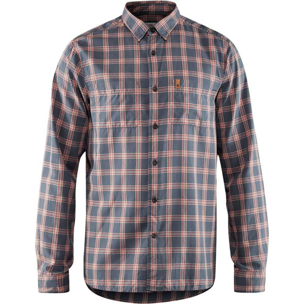 フェールラーベン Fjallraven メンズ トップス シャツ【High Coast Long - Sleeve Shirts】Navy
