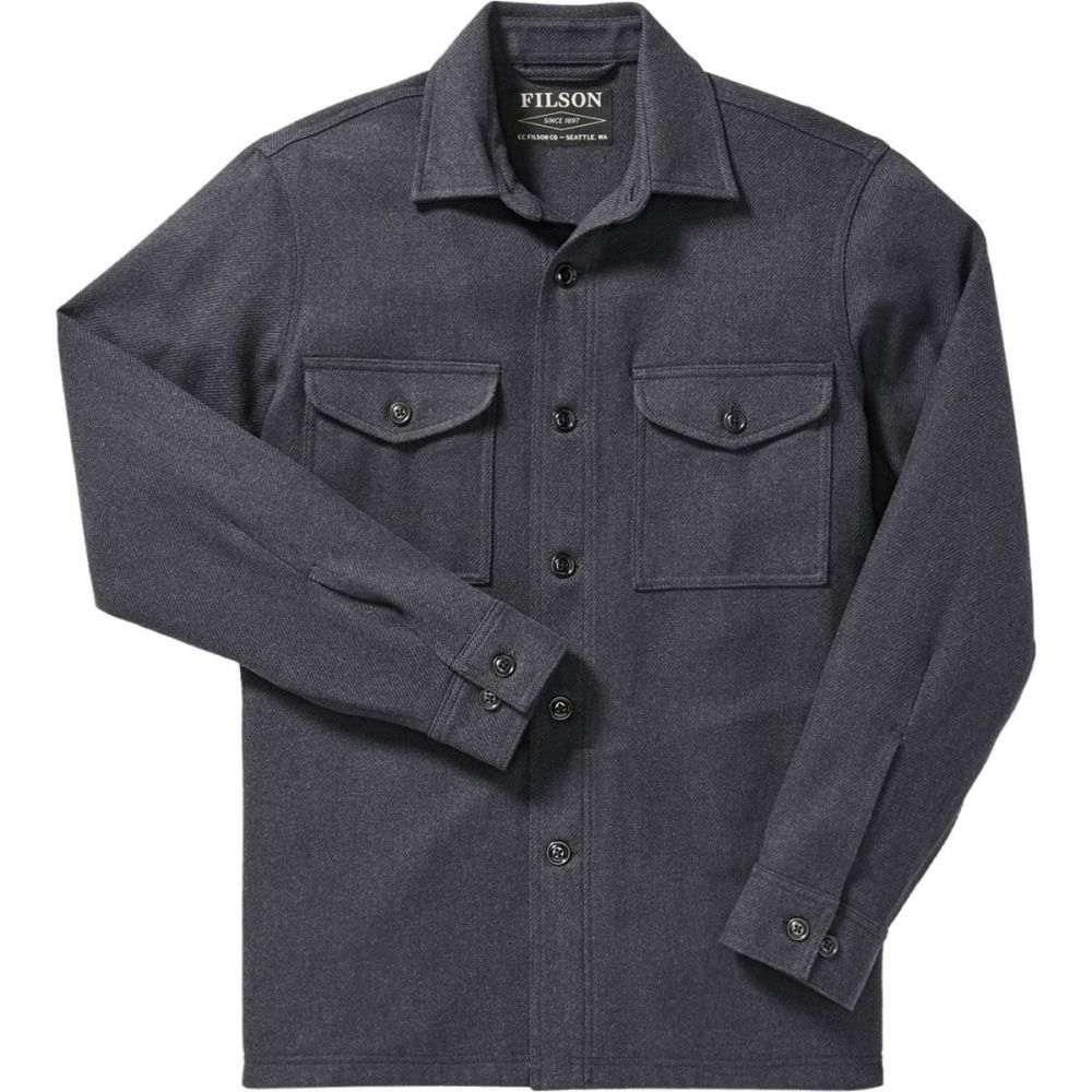 フィルソン Filson メンズ アウター ジャケット【Deer Island Shirt Jackets】Navy Heather
