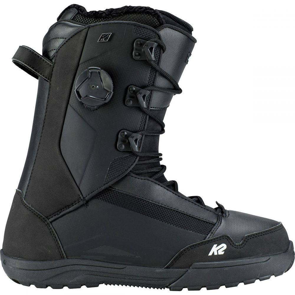 ケーツー K2 Snowboards メンズ スキー・スノーボード シューズ・靴【Darko Boa Snowboard Boots】Black