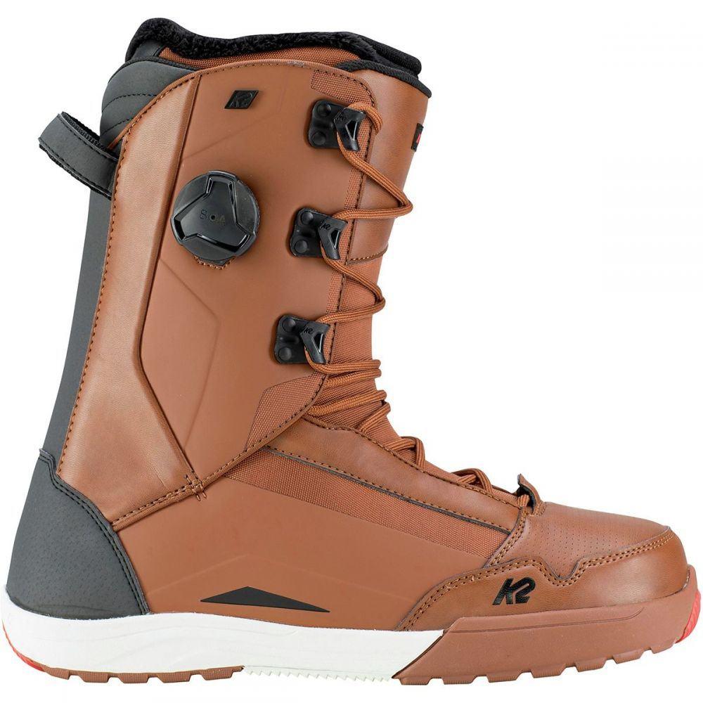 ケーツー K2 Snowboards メンズ スキー・スノーボード シューズ・靴【Darko Boa Snowboard Boots】Brown